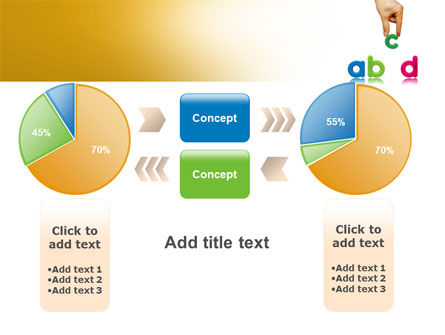 Childish Letters PowerPoint Template Slide 16
