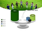 Round Circle PowerPoint Template#10