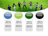 Round Circle PowerPoint Template#5