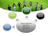 Round Circle PowerPoint Template#7