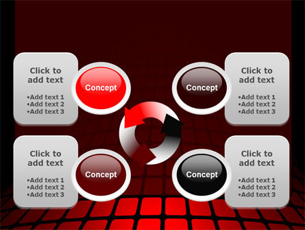 Curvature PowerPoint Template Slide 9
