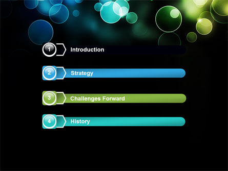 Bokeh for Photography PowerPoint Template Slide 3