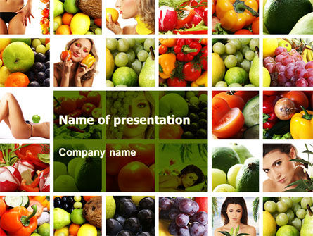Food & Beverage: Nutrition PowerPoint Template #06856