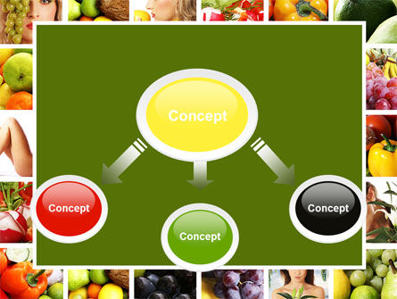 Nutrition PowerPoint Template, Slide 4, 06856, Food & Beverage — PoweredTemplate.com