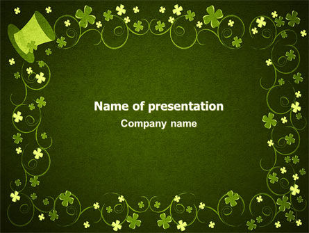Irish Theme PowerPoint Template