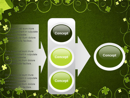 Irish Theme PowerPoint Template Slide 11