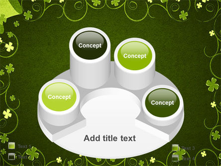 Irish Theme PowerPoint Template Slide 12