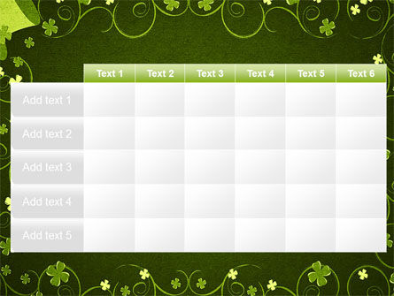 Irish Theme PowerPoint Template Slide 15