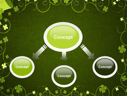 Irish Theme PowerPoint Template, Slide 4, 06857, Holiday/Special Occasion — PoweredTemplate.com