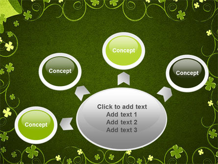 Irish Theme PowerPoint Template Slide 7