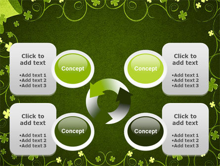 Irish Theme PowerPoint Template Slide 9