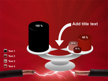 Electric Spark PowerPoint Template Slide 10