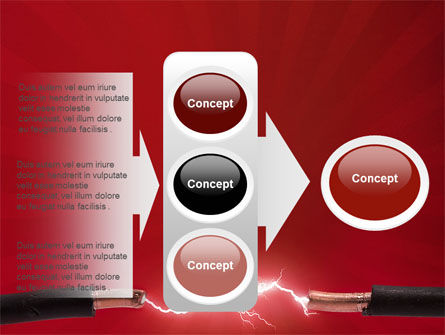 Electric Spark PowerPoint Template Slide 11