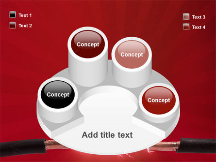 Electric Spark PowerPoint Template Slide 12