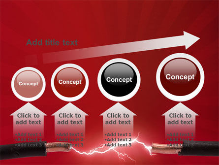 Electric Spark PowerPoint Template Slide 13