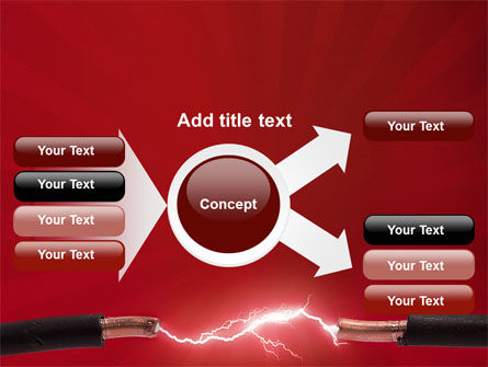 Electric Spark PowerPoint Template Slide 14