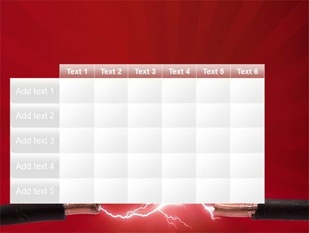Electric Spark PowerPoint Template Slide 15