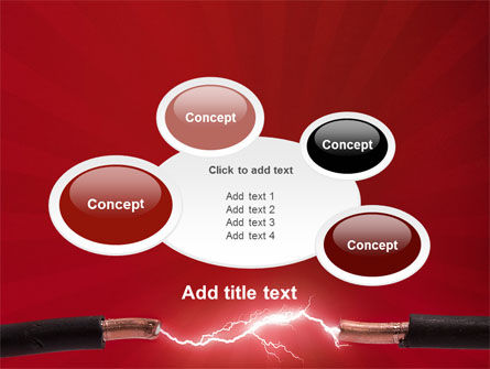 Electric Spark PowerPoint Template Slide 16