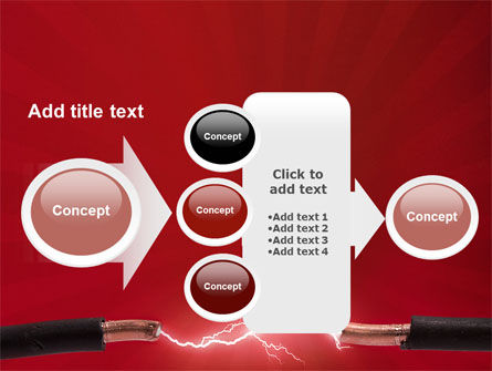 Electric Spark PowerPoint Template Slide 17