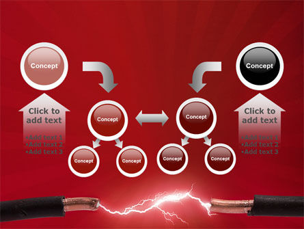 Electric Spark PowerPoint Template Slide 19
