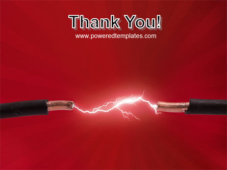 Electric Spark PowerPoint Template Slide 20