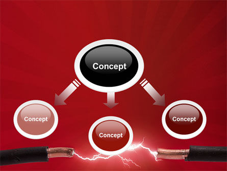 Electric Spark PowerPoint Template, Slide 4, 06858, Consulting — PoweredTemplate.com