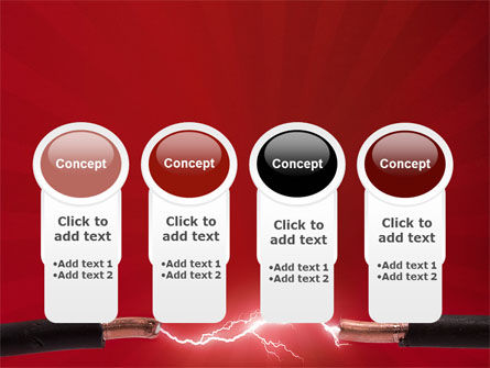 Electric Spark PowerPoint Template Slide 5