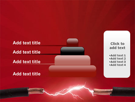 Electric Spark PowerPoint Template Slide 8