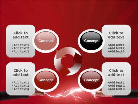 Electric Spark PowerPoint Template Slide 9
