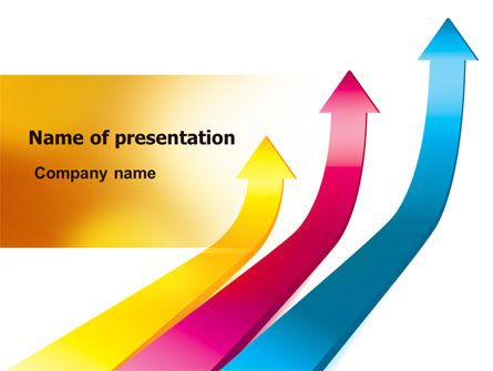 Rates Rise PowerPoint Template, 06859, Business Concepts — PoweredTemplate.com
