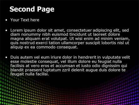 Spectrum PowerPoint Template Slide 2