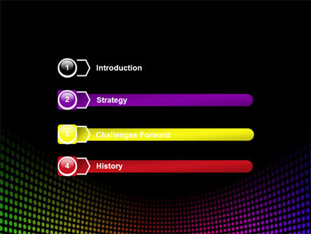 Spectrum PowerPoint Template Slide 3