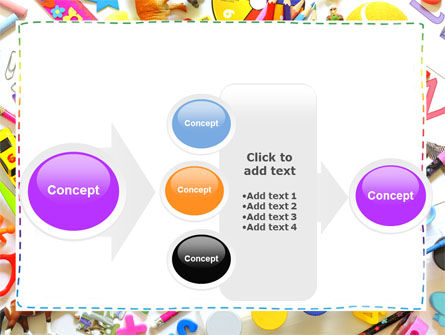 Childish Frame PowerPoint Template Slide 17