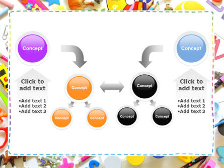 Childish Frame PowerPoint Template Slide 19