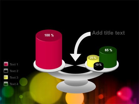Rainbow Bokeh PowerPoint Template Slide 10