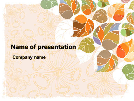 Autumn Semester PowerPoint Template
