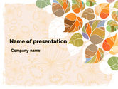 Abstract/Textures: Autumn Semester PowerPoint Template #06864