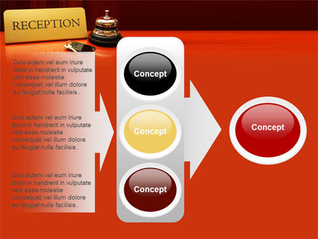 Hotel Reception PowerPoint Template Slide 11