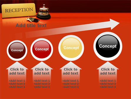 Hotel Reception PowerPoint Template Slide 13