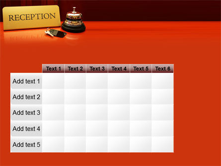 Hotel Reception PowerPoint Template Slide 15