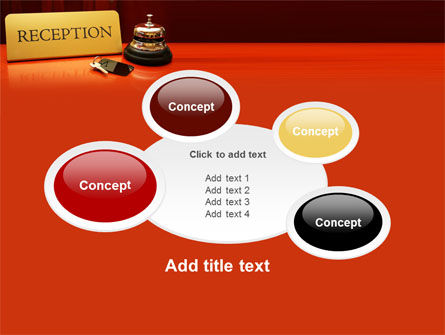 Hotel Reception PowerPoint Template Slide 16