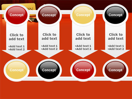 Hotel Reception PowerPoint Template Slide 18