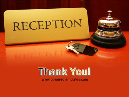 Hotel Reception PowerPoint Template Slide 20