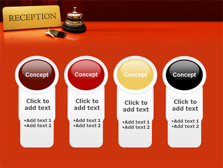 Hotel Reception PowerPoint Template Slide 5