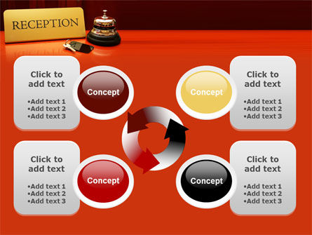 Hotel Reception PowerPoint Template Slide 9