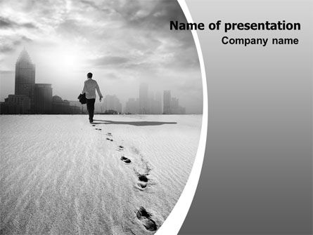 Business Concepts: Escapist PowerPoint Template #06867