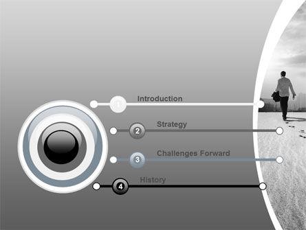 Escapist PowerPoint Template, Slide 3, 06867, Business Concepts — PoweredTemplate.com