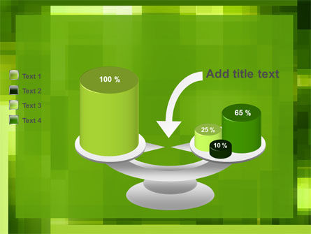 Green Geometric Theme PowerPoint Template Slide 10