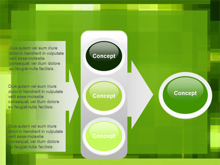 Green Geometric Theme PowerPoint Template Slide 11