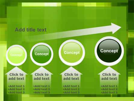 Green Geometric Theme PowerPoint Template Slide 13